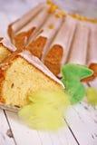 традиция пасхи торта хлеба декоративная Стоковые Изображения