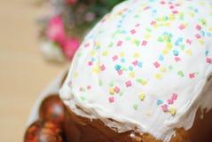 традиция пасхи торта хлеба декоративная Стоковые Фото