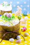 традиция пасхи торта хлеба декоративная Стоковые Фотографии RF