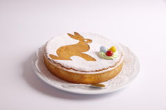 традиция пасхи торта хлеба декоративная Стоковое Изображение RF