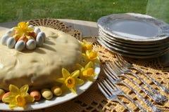 традиция пасхи торта хлеба декоративная Стоковая Фотография RF