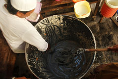 Традиция Bubur Banjar Samin стоковые изображения rf