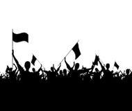 Требовать толпы Стоковое Изображение