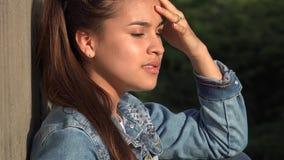 Тревожность и беспокойство гнева среди подростка Стоковые Изображения RF