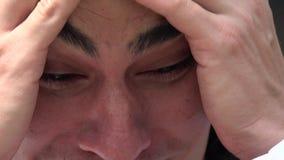 Тревожность, тревоженая, стресс, нервозность видеоматериал