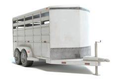 Трейлер лошади Стоковое Изображение RF