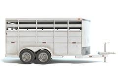 Трейлер лошади Стоковая Фотография RF