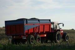 трейлер трактора Стоковое Фото