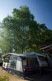 трейлер шатра Стоковая Фотография