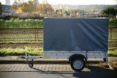 Трейлер автомобиля стоковое изображение rf