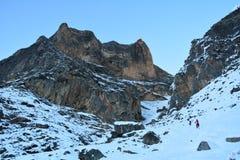 Треки гор Стоковое фото RF