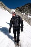 трек горы Стоковые Фото