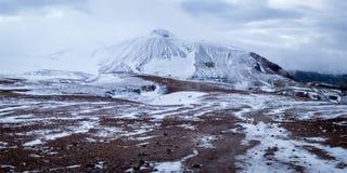 Трек Laugavegur - Исландия Стоковые Изображения RF