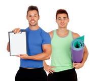Тренеры подготовленные для тренировки Стоковое Изображение