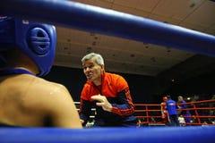 Тренер бокса Стоковая Фотография RF