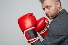 Тренер бокса Стоковые Изображения RF
