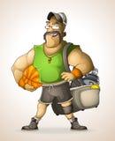Тренер пригодности Стоковое Изображение RF