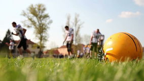 Тренировка американского футбола