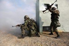 тренировка армии Стоковое Фото