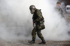 тренировка армии Стоковая Фотография