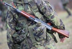 тренировка армии Стоковое фото RF
