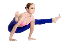 Тренировка баланса руки Стоковые Изображения RF