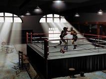 тренировка бокса Стоковая Фотография RF