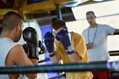 Тренировка бокса Стоковые Изображения