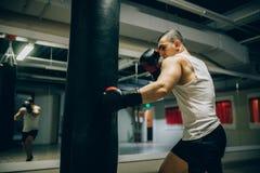 Тренировка бокса тренировка ` s чемпиона стоковое изображение rf