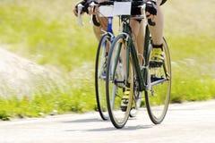тренировка велосипеда Стоковое Фото