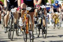 тренировка велосипеда Стоковые Изображения