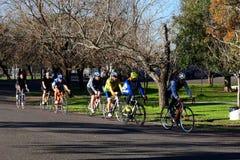 Тренировка велосипеда стоковое фото rf