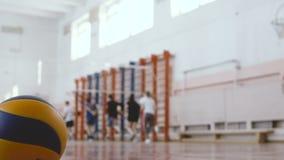 Тренировка волейбола школы движение медленное