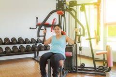 Тренировка в гимнастике Стоковое Фото