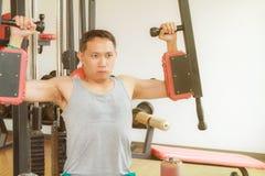 Тренировка в гимнастике Стоковые Изображения RF