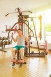 Тренировка в гимнастике Стоковое Изображение RF