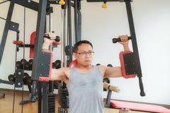 Тренировка в гимнастике Стоковая Фотография