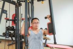 Тренировка в гимнастике Стоковая Фотография RF