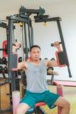 Тренировка в гимнастике Стоковые Изображения