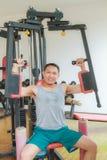 Тренировка в гимнастике Стоковые Фото