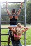 Тренировка в парке Стоковые Изображения