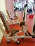 Тренировка в спортзале стоковое фото