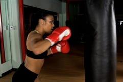 тренировка гимнастики боксера Стоковое Изображение