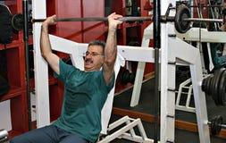 тренировка гимнастики пригодности стоковые изображения rf