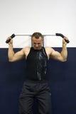тренировка гимнастики пригодности Стоковые Фото