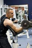 тренировка гимнастики пригодности Стоковая Фотография