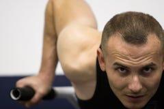 тренировка гимнастики пригодности Стоковые Изображения