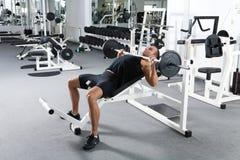 тренировка гимнастики Стоковая Фотография RF