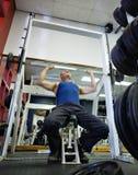 тренировка гимнастики Стоковые Изображения RF