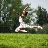 Тренировка женщины спорта Стоковое Изображение